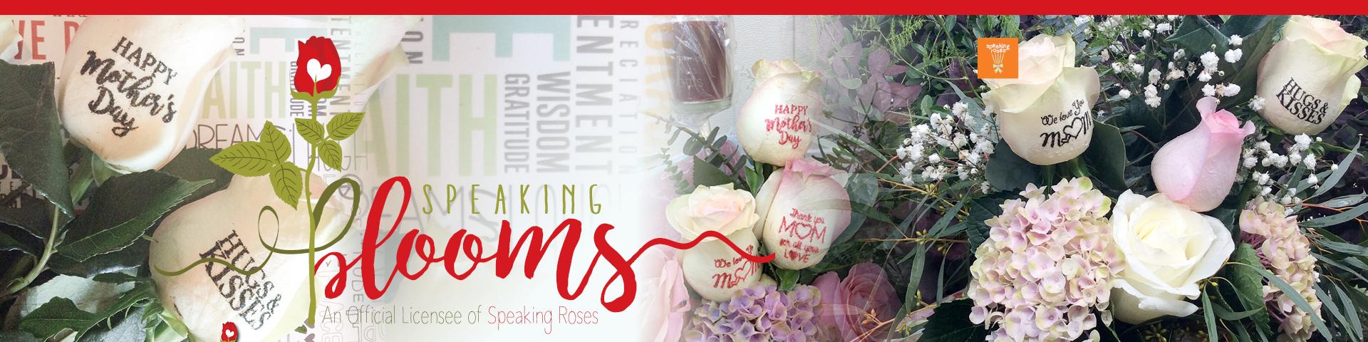 Speakingblooms.com An official representative of Speaking Roses International