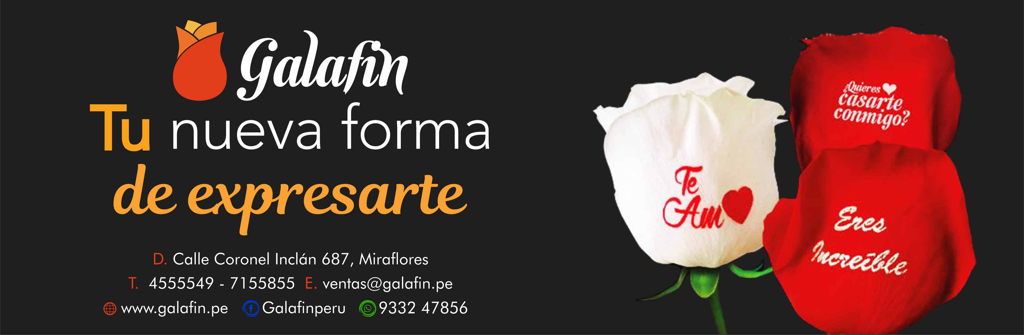 Galafin An official representative of Speaking Roses International